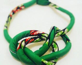 Necklace type green Maasai