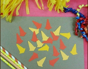 100 Piece Construction Party Themed Confetti