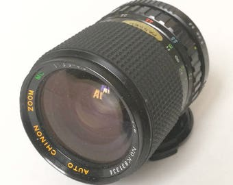 Vintage Auto Chinon Zoom 35-70 mm f3,5-4,5 Lens for SLR Camera with Pentax K-Mount