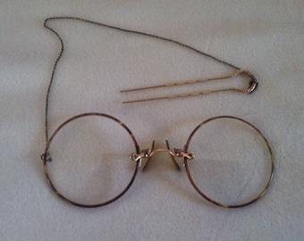 Victorian Women's eye glasses