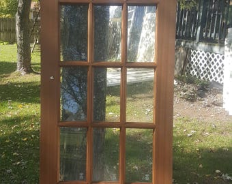 Victorian French Doors, Architectural Salvage 15 Pane Glass Doors, Interior  Door, Building Supply
