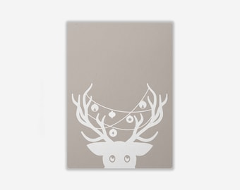 Greeting Card 'CHRISTMAS DEER'