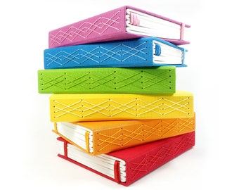 B6 Slim Bullet Journal (4.25 x 7 in). Handmade Notebook, Writing Journal, Dot Grid Journal, Dotted Notebook