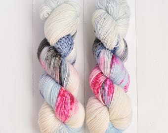 Hand Dyed Tough Sock Yarn - Gandaria