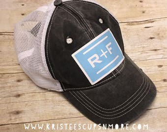 Sale R+F Trucker Style Adjustable Hat **Limited Time** RFh18332