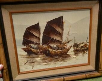 P Wong Oil Paintings