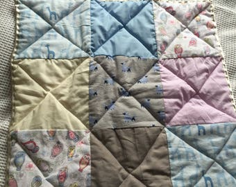 Personalised crafted quilt for New Born Babies
