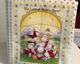 The Land Of Milk and Honey Cloth Book