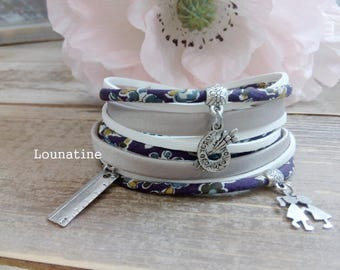 Original gift for teachers ! Handmade bracelet