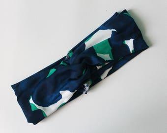Maillot imprimé turban