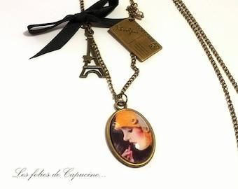 Necklace Cabochon •PARISIENNE year 30 •