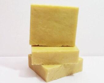 Vegan Jasmine Plumeria Soap Loaf