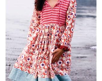 Quirky Boho Dress