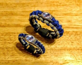 R2D2 Inspired Paracord Bracelet