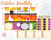 October Monthly Kit | Planner Stickers