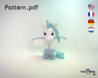 Pattern - Willow the cute Unicorn