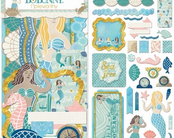 Bo Bunny | Down By The Sea | Noteworthy Die-Cuts