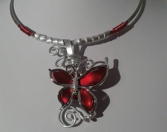 sylkial Butterfly Necklace