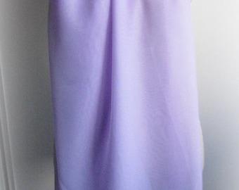 Large blue purple chiffon scarf