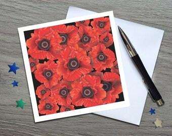 Poppy - Remembrance Gifts - Remembrance Poppy - Remembrance Day Poppy - Poppy Art - Poppy Gift - Poppy - Poppy Card - Remembrance - Poppy
