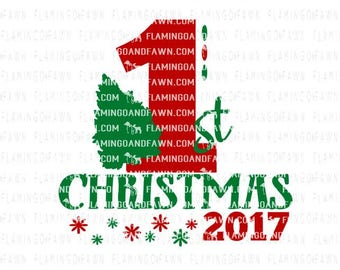 Christmas svg cut files, 1st christmas svg, Christmas svg, first christmas svg, christmas tree svg, svg christmas, Christmas baby svg