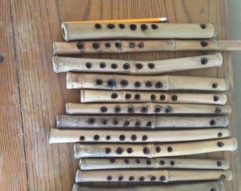 Bamboo fife; solar tuned