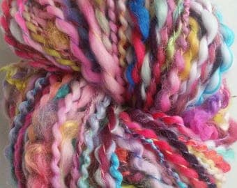 CAMILLE the spinning wheel-spun wool skein