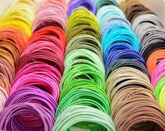 Soutache Paket 84 Farben mal 3 Meter