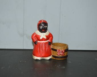 Aunt Jemima Tooth Pick Holder
