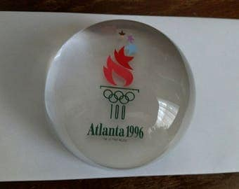 Avon Olympic Games Crystal Paperweight
