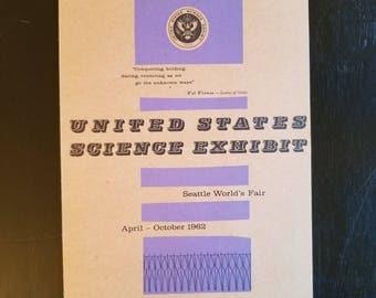 1962 Seattle World's Fair Science Exhibit brochure