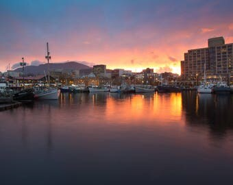 Hobart Waterfront Print (Limited Edition)