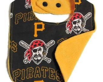 Pittsburgh Pirates Baby Bib