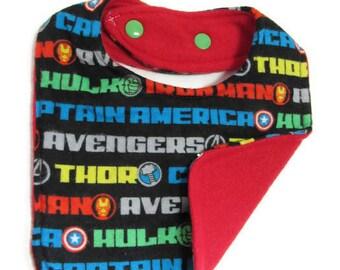 Avenger Names Baby Bib