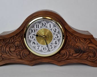 Mantle Clock - Wood
