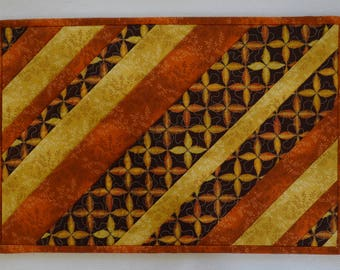 Autumn Stripes Place Mats - Set of 2