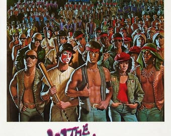 Back to School Sale: THE WARRIORS Movie Poster (1979)
