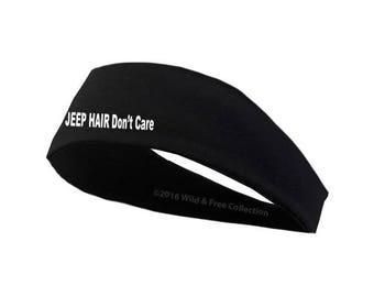 Jeep Hair Don't Care Headband | Jeep Girl Headband