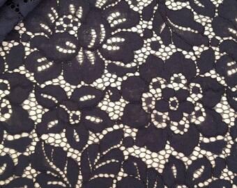 Spanish lace fabric | Etsy