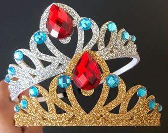 Elena Crown,Princess Elena Crown,Disney princess Crown,Disney Elena,Princess Crown,Elena of Avalor,birthday crown,princess Elena,Elena theme