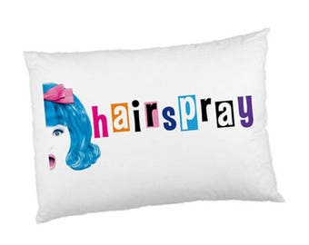 """New Hairspray Musical 30""""X20"""" Pillow Case Cover"""