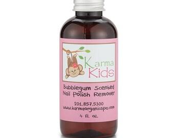 Karma Organic's Kids Nail Polish Remover, Bubblegum Scented