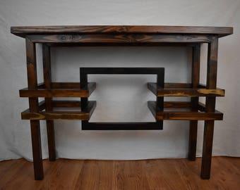 Handmade Wood Sofa Table