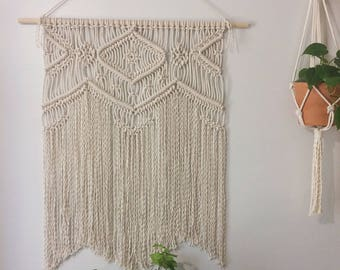 Macrame Wall Hanging / Tapestry / Weaving / Wall Decor