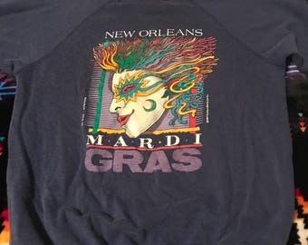 Vintage Mardi Gras sweatshirt