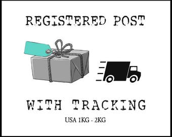 Registered Post: USA 1kg - 2kg