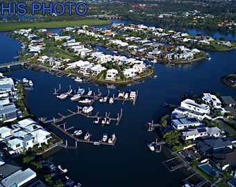 DJI-0109-Canal Homes | Harbour View Gold Coast | Buy This Photo Here  | Ideal for Website, Promotion, Editioral , advertising, promotion,