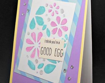 You're a good egg