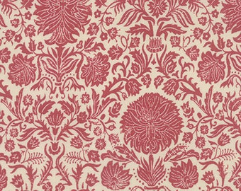 Moda JOYEUX NOEL Quilt Fabric 1/2 Yard By French General - Faded Red 13711 18