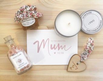 Mum to be, new mum present, new mum gift, Mother's Day gift, gift box, luxury hamper, pamper gift, mum hamper, mum gift set, indulgent gift